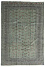 Pakistan Bokhara 3Ply Teppe 244X360 Ekte Orientalsk Håndknyttet Mørk Grønn/Lysgrønn (Ull, Pakistan)