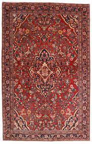 Sarough Sherkat Farsh Teppe 132X208 Ekte Orientalsk Håndknyttet Mørk Rød/Mørk Brun (Ull, Persia/Iran)