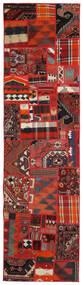 Tekkeh Kelim Teppe 80X300 Ekte Moderne Håndvevd Teppeløpere Rust/Mørk Rød (Ull, Persia/Iran)