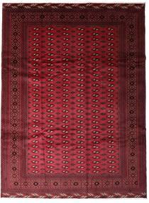 Turkaman Teppe 255X340 Ekte Orientalsk Håndknyttet Mørk Rød/Rød Stort (Ull, Persia/Iran)