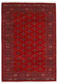 Pakistan Bokhara 3Ply Teppe 169X240 Ekte Orientalsk Håndknyttet Rust/Mørk Rød (Ull, Pakistan)