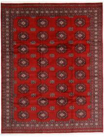 Pakistan Bokhara 3Ply Teppe 245X313 Ekte Orientalsk Håndknyttet Rust/Mørk Rød (Ull, Pakistan)