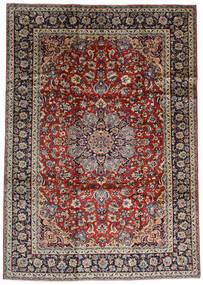 Najafabad Teppe 243X338 Ekte Orientalsk Håndknyttet Mørk Rød/Mørk Brun (Ull, Persia/Iran)