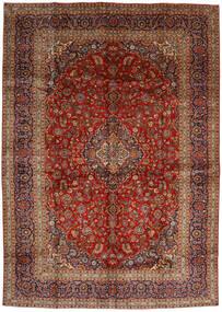 Keshan Teppe 288X406 Ekte Orientalsk Håndknyttet Mørk Brun/Mørk Rød Stort (Ull, Persia/Iran)
