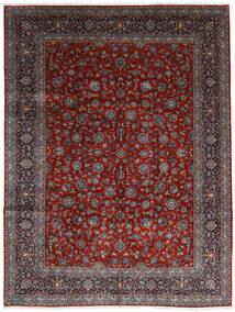 Keshan Teppe 278X367 Ekte Orientalsk Håndknyttet Mørk Rød/Mørk Brun Stort (Ull, Persia/Iran)