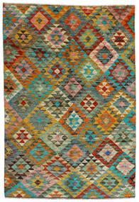 Moroccan Berber - Afghanistan Teppe 170X250 Ekte Moderne Håndknyttet Brun/Lysbrun (Ull, Afghanistan)
