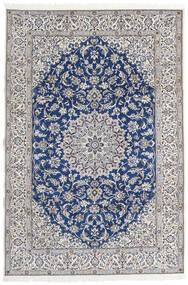 Nain 9La Teppe 203X297 Ekte Orientalsk Håndknyttet Lys Grå/Beige (Ull/Silke, Persia/Iran)