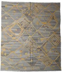 Kelim Ariana Teppe 261X291 Ekte Moderne Håndvevd Lys Grå/Mørk Grå/Lysbrun Stort (Ull, Afghanistan)