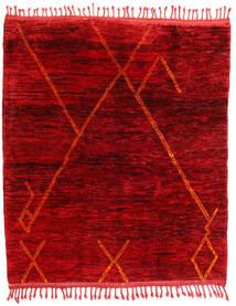 Berber Moroccan - Mid Atlas Teppe 172X193 Ekte Moderne Håndknyttet Mørk Rød/Rød (Ull, Marokko)