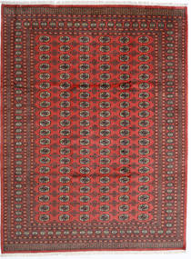 Pakistan Bokhara 2Ply Teppe 246X325 Ekte Orientalsk Håndknyttet Mørk Rød/Rust (Ull, Pakistan)