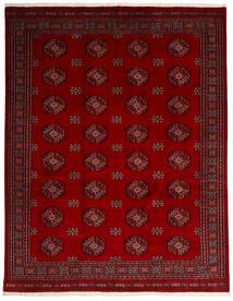 Pakistan Bokhara 3Ply Teppe 249X315 Ekte Orientalsk Håndknyttet Mørk Rød/Rød (Ull, Pakistan)