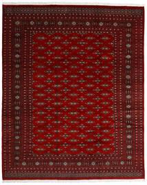 Pakistan Bokhara 2Ply Teppe 242X299 Ekte Orientalsk Håndknyttet Mørk Rød/Mørk Brun/Rød (Ull, Pakistan)
