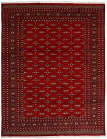 Pakistan Bokhara 2Ply Teppe 240X307 Ekte Orientalsk Håndknyttet Mørk Rød/Rød (Ull, Pakistan)
