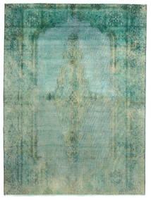 Vintage Heritage Teppe 189X256 Ekte Moderne Håndknyttet Pastell Grønn/Turkis Blå (Ull, Persia/Iran)