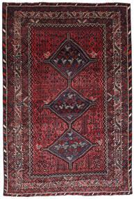 Shiraz Teppe 222X323 Ekte Orientalsk Håndknyttet Mørk Rød (Ull, Persia/Iran)