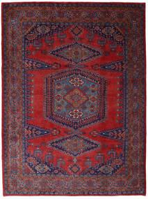 Wiss Teppe 253X344 Ekte Orientalsk Håndknyttet Mørk Rød/Mørk Lilla Stort (Ull, Persia/Iran)