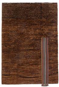 Moroccan Berber - Afghanistan Teppe 194X281 Ekte Moderne Håndknyttet Mørk Brun/Brun (Ull, Afghanistan)