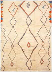 Moroccan Berber - Afghanistan Teppe 255X365 Ekte Moderne Håndknyttet Beige/Mørk Beige Stort (Ull, Afghanistan)