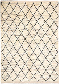 Moroccan Berber - Afghanistan Teppe 171X236 Ekte Moderne Håndknyttet Beige/Lys Grå (Ull, Afghanistan)