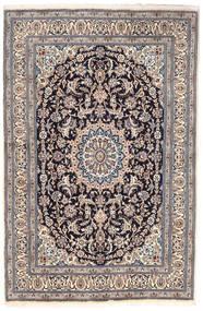 Nain Teppe 163X249 Ekte Orientalsk Håndknyttet Lys Grå/Mørk Grå (Ull, Persia/Iran)