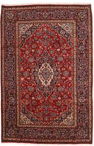 Keshan Teppe 198X302 Ekte Orientalsk Håndknyttet Mørk Rød (Ull, Persia/Iran)