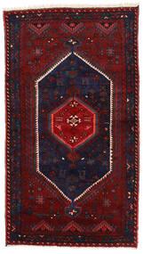 Zanjan Teppe 130X232 Ekte Orientalsk Håndknyttet Mørk Blå/Mørk Rød (Ull, Persia/Iran)
