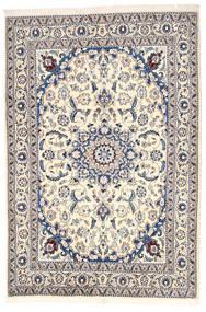 Nain Teppe 164X240 Ekte Orientalsk Håndknyttet Lys Grå/Beige (Ull, Persia/Iran)
