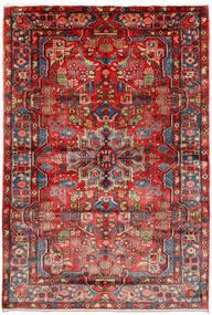 Nahavand Old Teppe 161X235 Ekte Orientalsk Håndknyttet Mørk Rød/Rust (Ull, Persia/Iran)