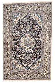 Nain Teppe 155X249 Ekte Orientalsk Håndknyttet Lys Grå/Beige (Ull, Persia/Iran)