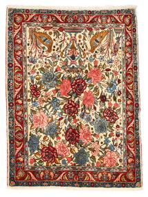 Bakhtiar Collectible Teppe 101X148 Ekte Orientalsk Håndknyttet Mørk Grå/Rød (Ull, Persia/Iran)