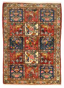 Bakhtiar Collectible Teppe 115X155 Ekte Orientalsk Håndknyttet Mørk Brun/Rød (Ull, Persia/Iran)