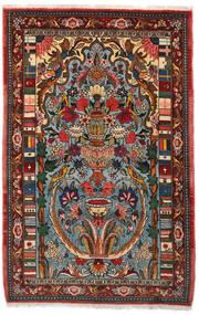 Bakhtiar Collectible Teppe 103X158 Ekte Orientalsk Håndknyttet Mørk Brun/Mørk Turkis (Ull, Persia/Iran)