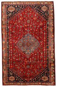 Shiraz Teppe 177X281 Ekte Orientalsk Håndknyttet Rust/Mørk Rød (Ull, Persia/Iran)