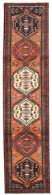 Ardebil Teppe 77X324 Ekte Orientalsk Håndknyttet Teppeløpere Mørk Rød/Mørk Brun (Ull, Persia/Iran)