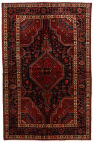 Toiserkan Teppe 146X230 Ekte Orientalsk Håndknyttet Mørk Rød (Ull, Persia/Iran)