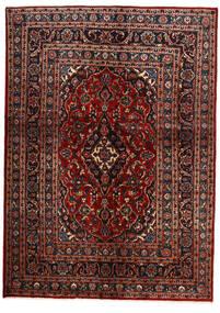 Keshan Teppe 149X207 Ekte Orientalsk Håndknyttet Mørk Rød/Svart (Ull, Persia/Iran)
