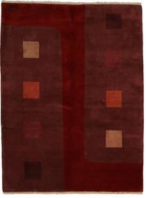 Gabbeh Indisk Teppe 174X229 Ekte Moderne Håndknyttet Mørk Rød/Mørk Brun (Ull, India)