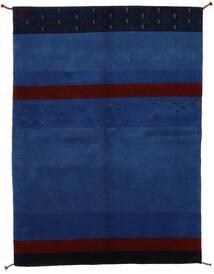 Gabbeh Indisk Teppe 166X228 Ekte Moderne Håndknyttet Mørk Blå/Mørk Lilla (Ull, India)