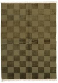 Gabbeh Indisk Teppe 172X235 Ekte Moderne Håndknyttet Olivengrønn/Mørk Grønn (Ull, India)