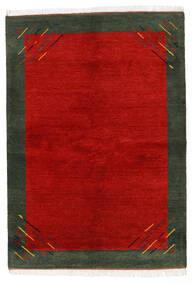 Gabbeh Indisk Teppe 170X238 Ekte Moderne Håndknyttet Rust/Mørk Grønn (Ull, India)