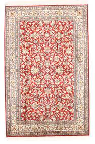 Kashmir Ren Silke Teppe 78X121 Ekte Orientalsk Håndknyttet Beige (Silke, India)