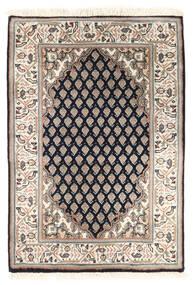 Mir Indisk Teppe 63X90 Ekte Orientalsk Håndknyttet Lys Grå/Beige (Ull, India)