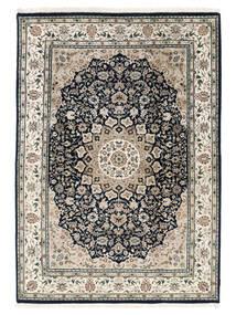 Nain Indisk Teppe 169X248 Ekte Orientalsk Håndknyttet Beige/Mørk Grå/Lys Grå ( India)