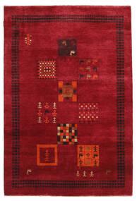 Gabbeh Loribaft Teppe 145X215 Ekte Moderne Håndknyttet Rød/Mørk Rød (Ull, India)