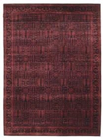 Gabbeh Loribaft Teppe 170X234 Ekte Moderne Håndknyttet Mørk Brun/Mørk Rød (Ull, India)