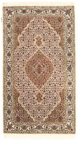 Tabriz Royal Teppe 92X162 Ekte Orientalsk Håndknyttet Beige/Brun ( India)