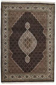 Tabriz Royal Teppe 165X245 Ekte Orientalsk Håndknyttet Mørk Brun/Lys Grå ( India)