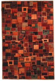 Gabbeh Loribaft Teppe 117X178 Ekte Moderne Håndknyttet Mørk Rød/Mørk Brun (Ull, India)