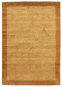 Handloom Frame - Gull Teppe 160X230 Moderne Lysbrun/Brun (Ull, India)