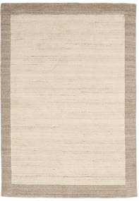 Handloom Frame - Natural/Sand Teppe 160X230 Moderne Beige/Lys Grå (Ull, India)